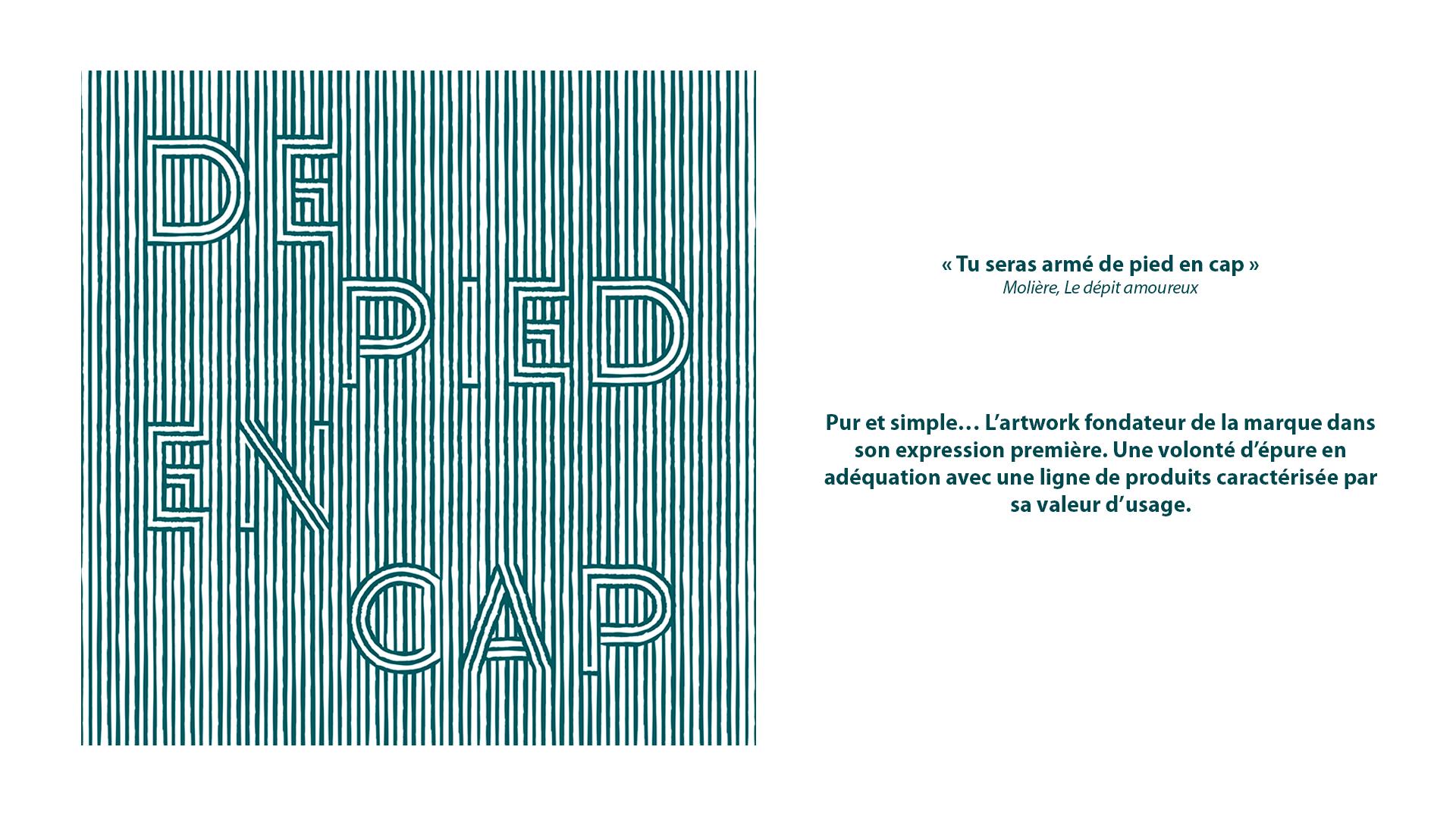 Collection De Pied en Cap BOW&Co, image de référence de la collection avec nom écrit